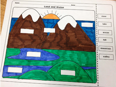 Landforms and Bodies of Water FREEBIE!