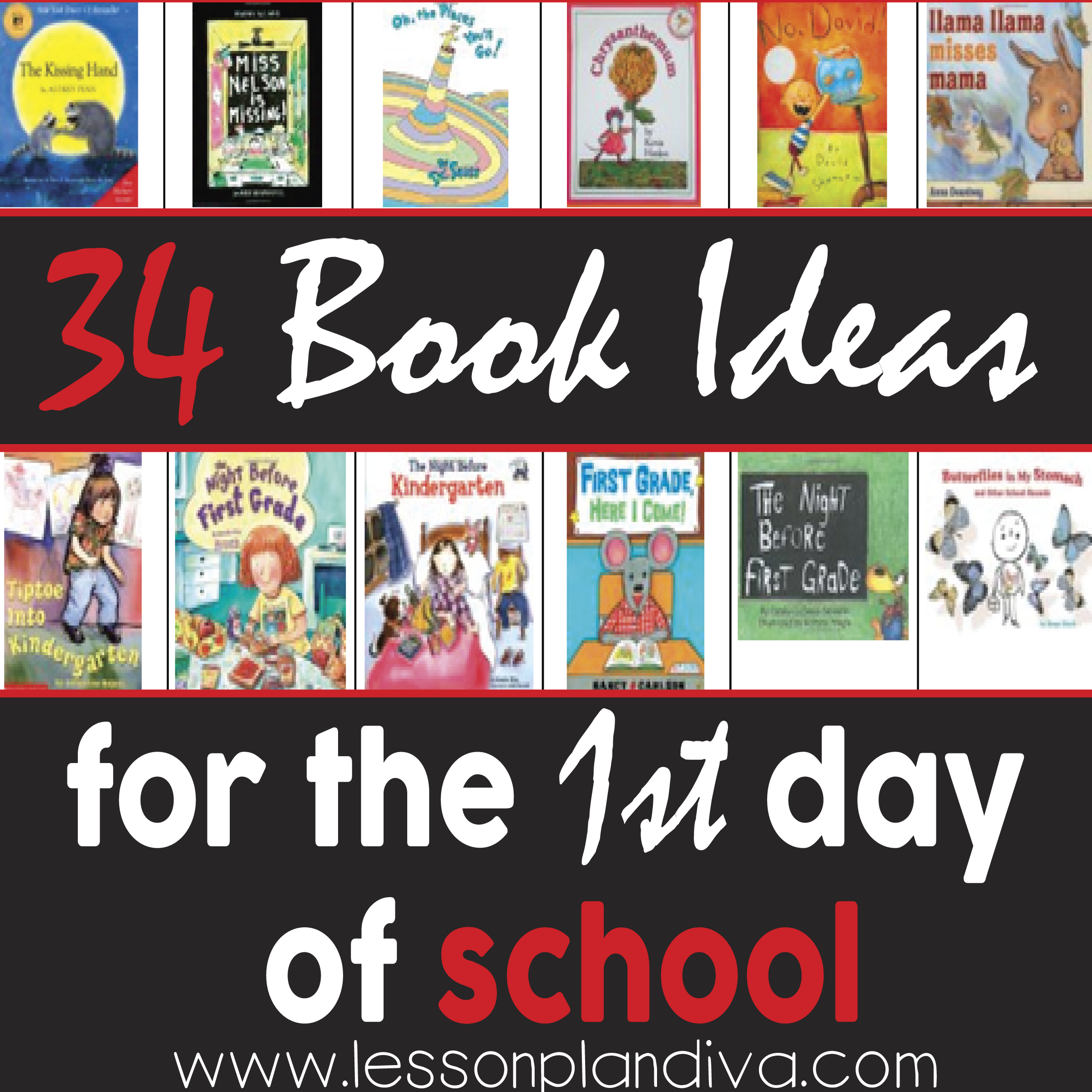 Prime 34 Great Books To Read On The First Day Of School The Lesson Hairstyle Inspiration Daily Dogsangcom
