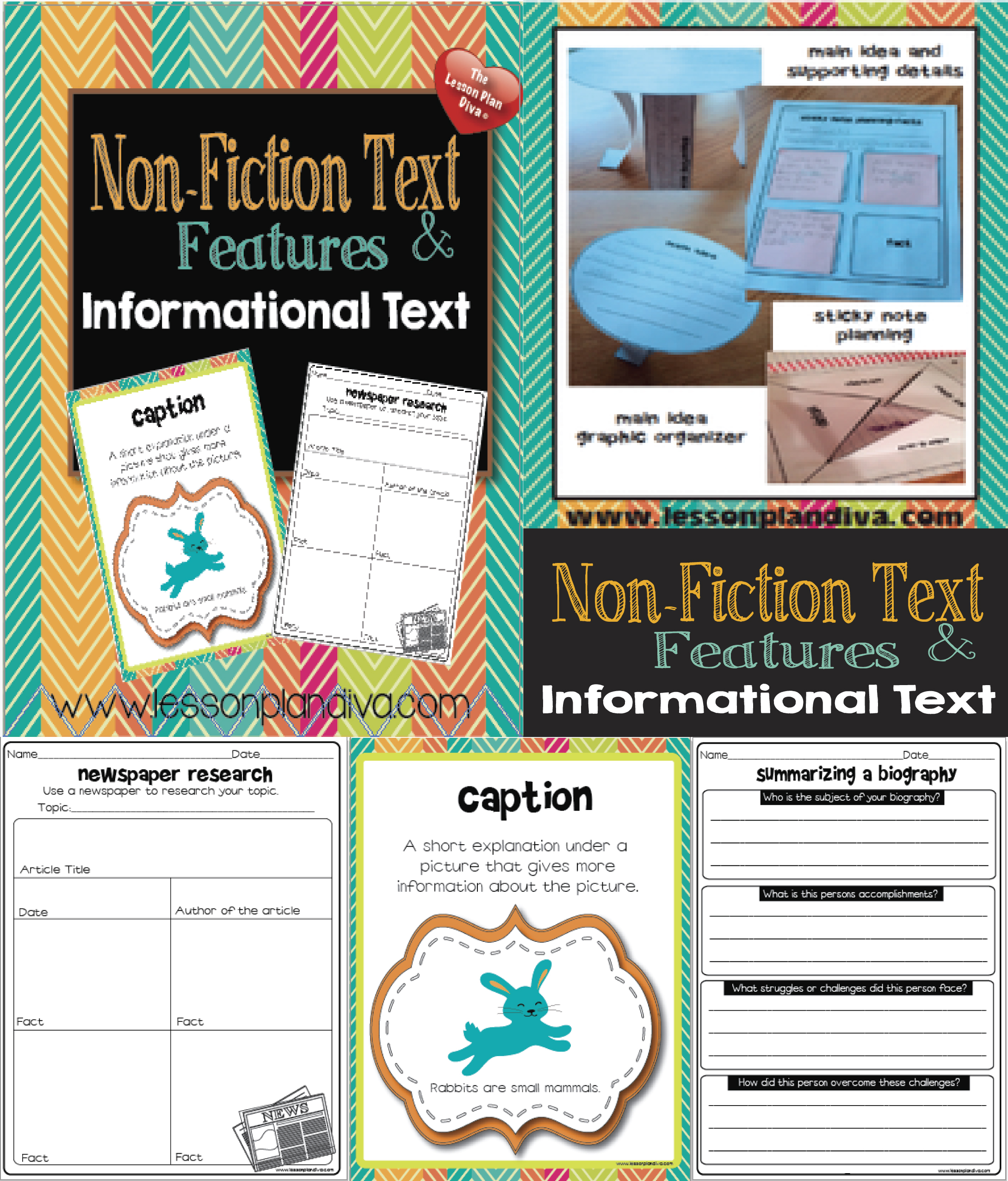 non fiction writing Printables and hands-on activities to help you teach non-fiction writing | see more ideas about grade 2, second grade and teaching handwriting.
