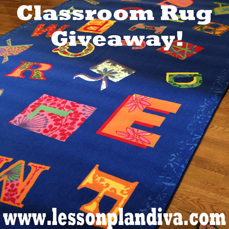 Classroom Decor Rugs ~ Kidcarpet giveaway the lesson plan diva