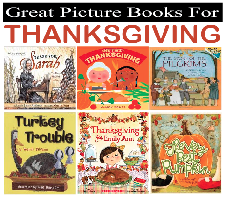 Great Picture Books for Thanksgiving!