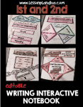 Editable Interactive Writing Notebook