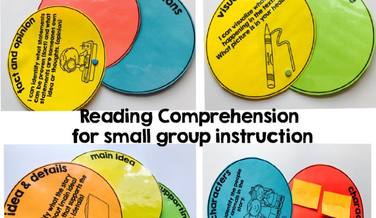 Sticky Note Graphic Organizers for Small Group Instruction
