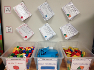 Math Action Cards In Action!