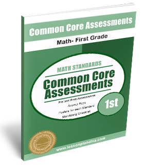 Math Common Core Assessments! - The Lesson Plan Diva