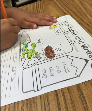 Editable Name Packet and I Can Label and Write Activity!